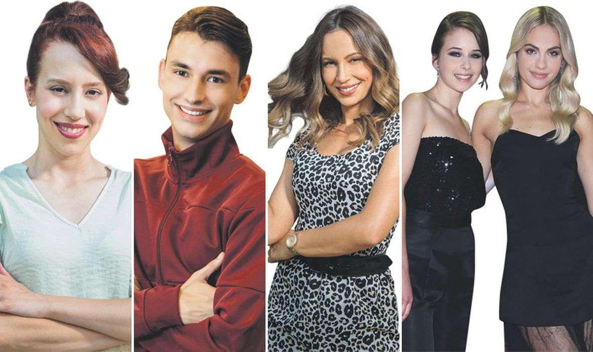 MLADE ZVIJEZDE U SERIJAMA Pet glumačkih imena krase dva televizijska projekta koja se odnedavno emitiraju na Novoj TV i RTL-u