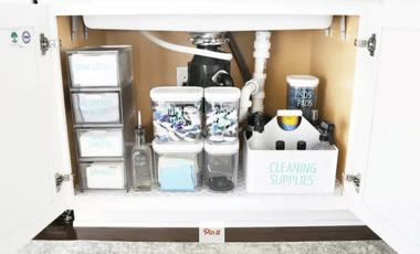 5 super jednostavan (i učinkovit!) Načina organiziranja prostor ispod vašeg sudopera