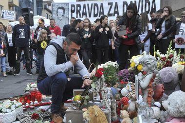 Prosvjed zbog smrti Davida Dragičevića, Banja Luka.