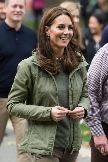 October 2, 2018 - London, London, United Kingdom - Catherine, Duchess Of Cambridge meets members of the public during a visit to Sayers Croft Forest School and Wildlife Garden at Paddington Recreation Ground, London, United Kingdom, 02 October 2018., Image: 389475046, License: Rights-managed, Restrictions: * UK Rights OUT *, Model Release: no, Credit line: Profimedia, Zuma Press - News