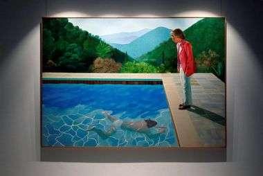 HOĆE LI POSTIĆI REKORD NA AUKCIJI U CHRISTIE'SU? Hockneyjeva ljubav prema L.A.-u, bazenima i mladićima sad vrijedi 80 milijuna dolara