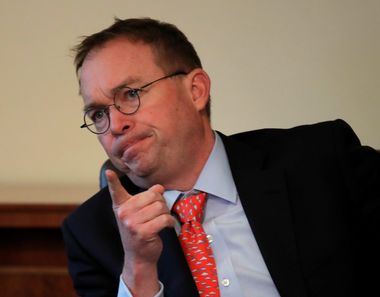 Acting White House chief of staff Mick Mulvaney attends a Cabinet meeting on day 12 of the partial U.S. government shutdown at the White House in Washington, U.S., January 2, 2019. REUTERS/Jim Young