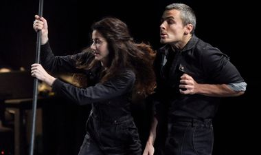 Zagreb, 280519. Savska 25. U &TD-u premijerno je prikazana predstava Hamlet za svakoga. Na fotografiji: prizor iz predstave. Foto: Darko Tomas / CROPIX