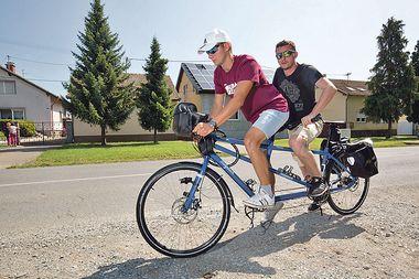 'Zbog sina koji je od mene naslijedio sljepoću okrenuo sam se vjeri i sad krećem na 1100 kilometara dugo hodočašće biciklom do Međugorja'