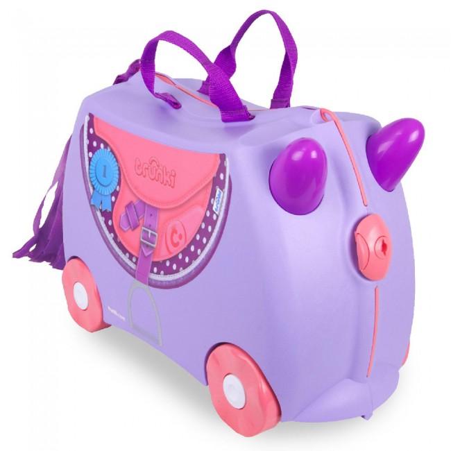 Dječji koferi spremni za put