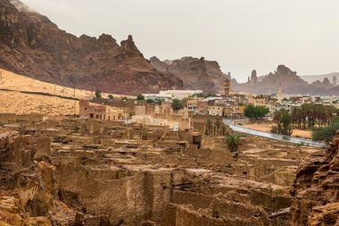 Old ghost town of Al Ula, Saudi Arabia, Image: 471270426, License: Royalty-free, Restrictions: , Model Release: no, Credit line: Michael Runkel / imageBROKER / Profimedia