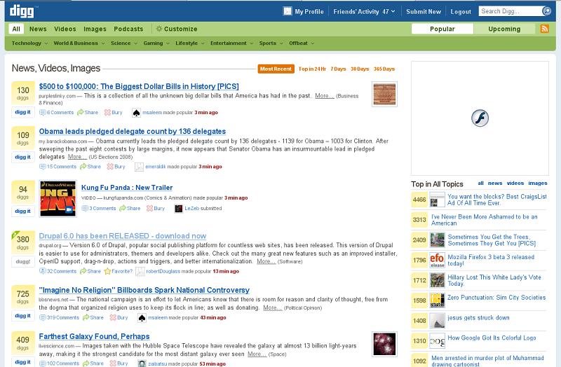 Web stranice za pronalaženje društvenih eksperimenata