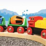 Drveni vlakovi najpoznatije su drvene igračke