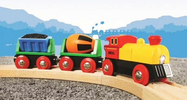 Drveni vlakovi najbolji su poklon