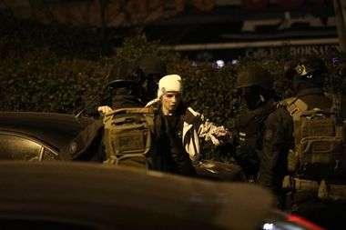 Split, 110120. Policijska akcija vezana uz trostruko ubojstvo u centru Splita. Foto: Vojko Basic / CROPIX