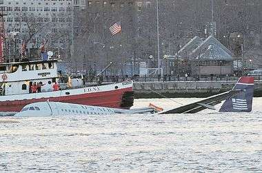 . . . . . January 15 2009, New York City Flight 1549 flying from Laguardia Airport to North Carolina crashed into the Hudson River off the West Side of Manhattan on January 15 2009 in New York City. The Airbus 320 took off from Runway Four at Lagaurdia and was reported to have hit a flock of birds which damaged the aircraft's engines, causing it to loose power. The pilot managed to crash-land on the Hudson and the passengers eveacuated the aircraft from doors over the wings, where they were rescued by the nunerous ferries and other boats., Image: 29037394, License: Rights-managed, Restrictions: Please credit photographer. Agents please include photographer's name on sales reports., Model Release: no, Credit line: KRISTIN CALLAHAN / Acepixs / Profimedia