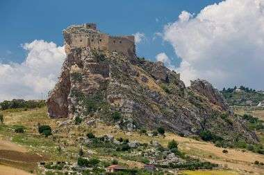Castello Manfredonico, Mussomeli, Sicily, Italy, Image: 279934124, License: Royalty-free, Restrictions: , Model Release: no, Credit line: Stephan Knödler / imageBROKER / Profimedia