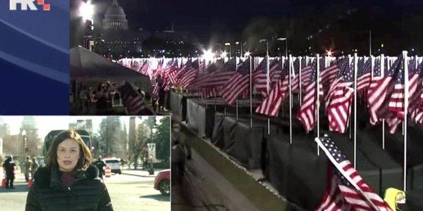 SAD uoči neviđene inauguracije – Biden stigao u Washington