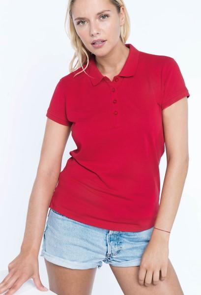 Ženska polo majica u crvenoj boji